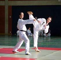 Einschritt Kampf mit Aziz Acharki 2008 in Gronau Showveranstaltung