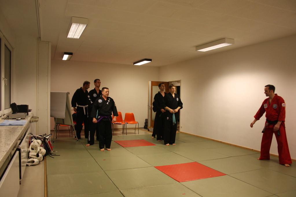 Kuksool Hapkido - Prüfung 04.März 2011 -Sportschule Jan Springer
