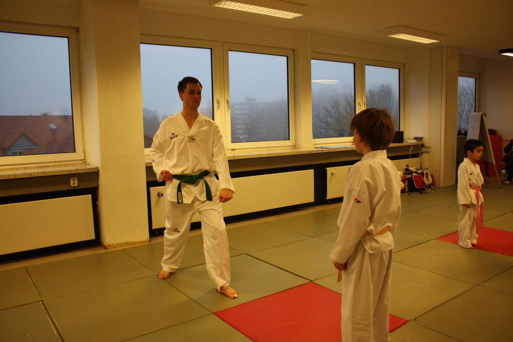Taekwondo Stade - Prüfung 04.März 2011 - Sportschule Jan Springer