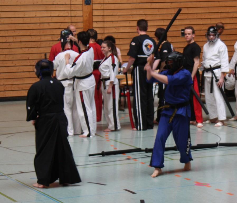 Trainingskampf mit Keicho Tanabe und Jan Springer