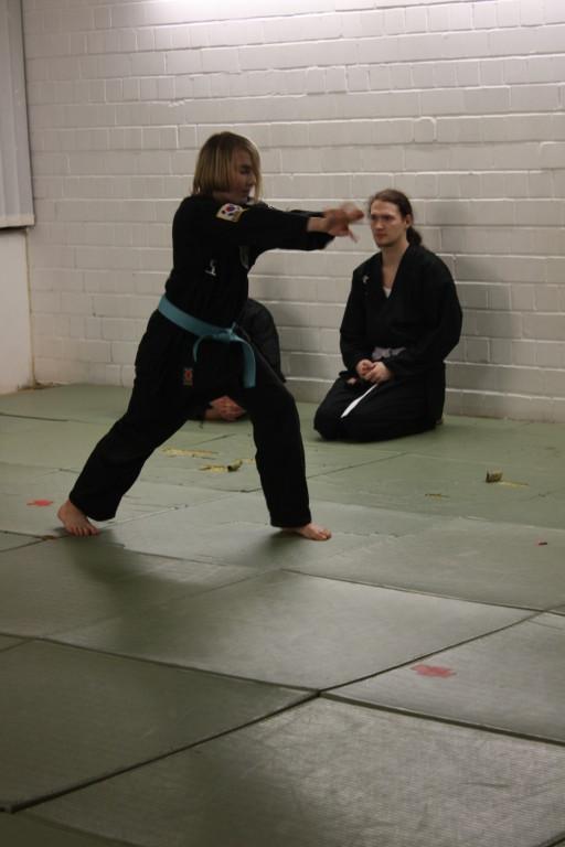Kuksool Hapkido - Prüfung 4.Dezember 2009 - Sportschule Jan Springer