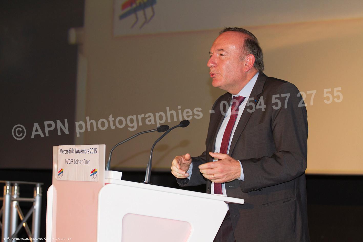 Pierre Gattaz - Président du MEDEF