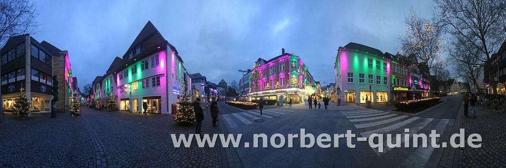 Osnabrück - Weihnachtsleuchten  2
