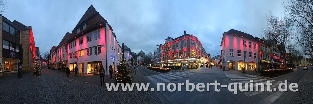 Osnabrück - Weihnachtsleuchten  1