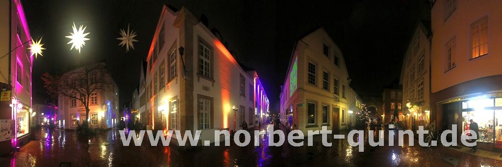 Osnabrück - Atstadt mit Blick auf Heger Tor