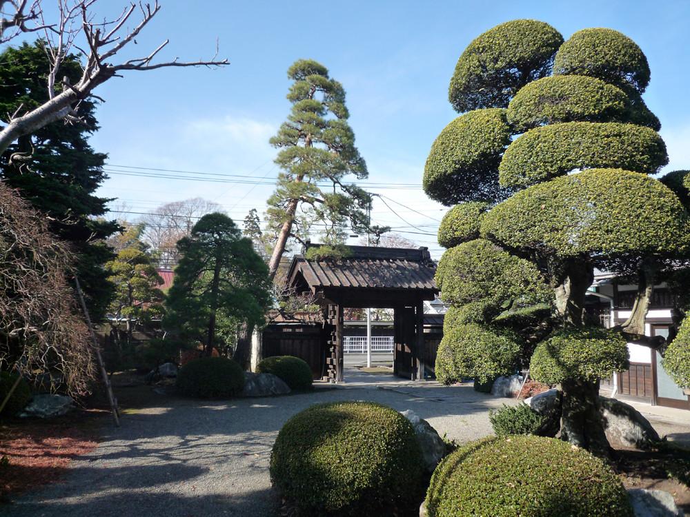 相沢邸中庭