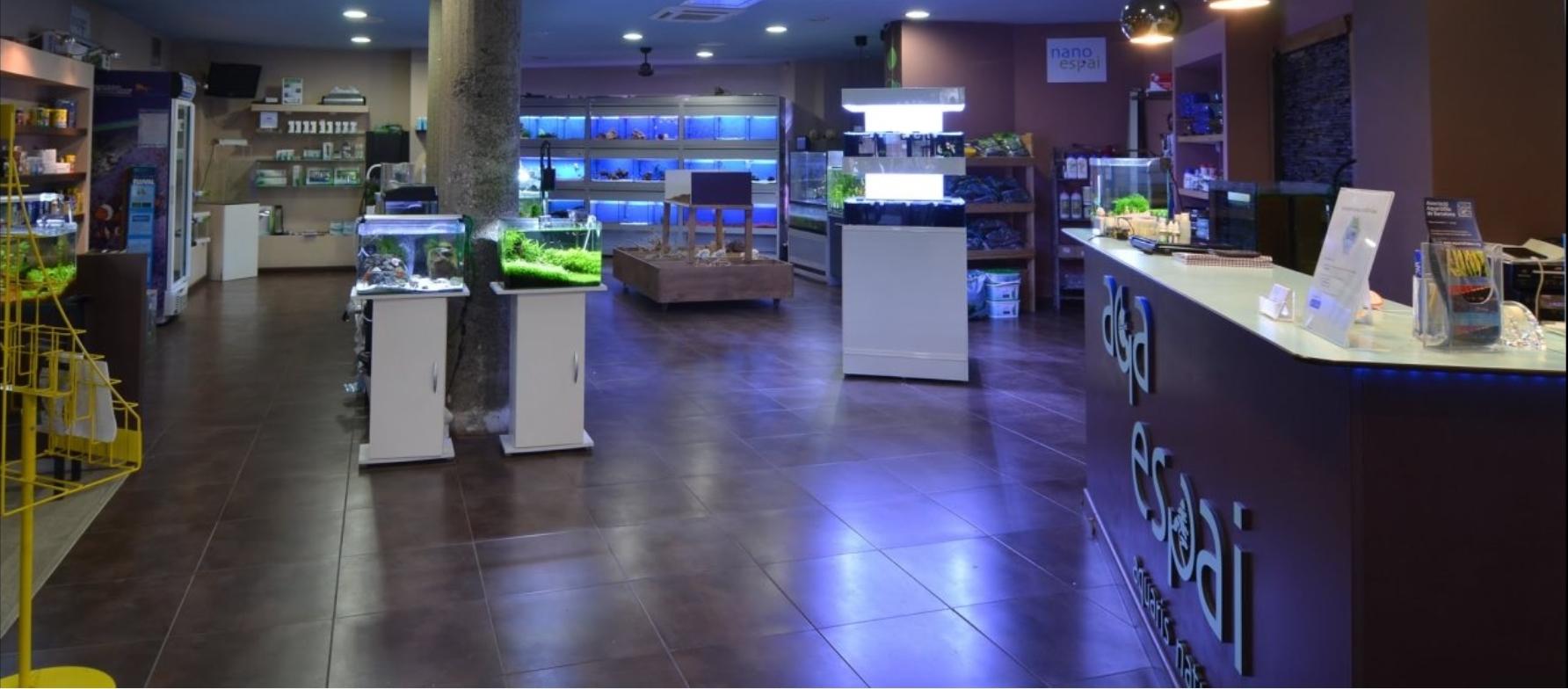 AQA Espai - Tienda de acuarios y peces tropicales en Barcelona
