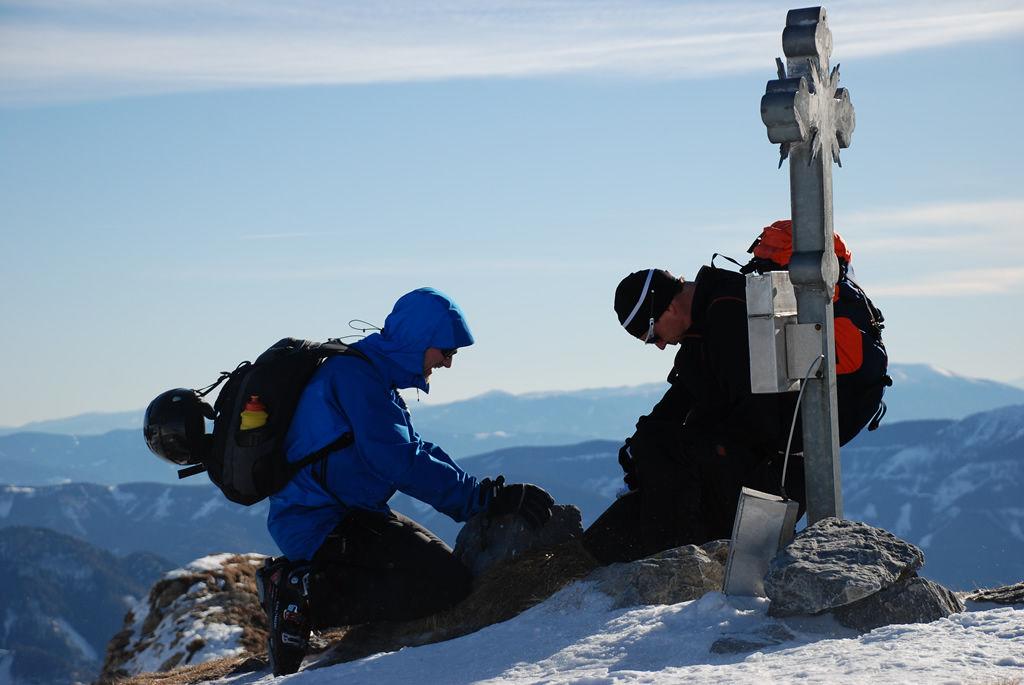 ...berg und schnee...