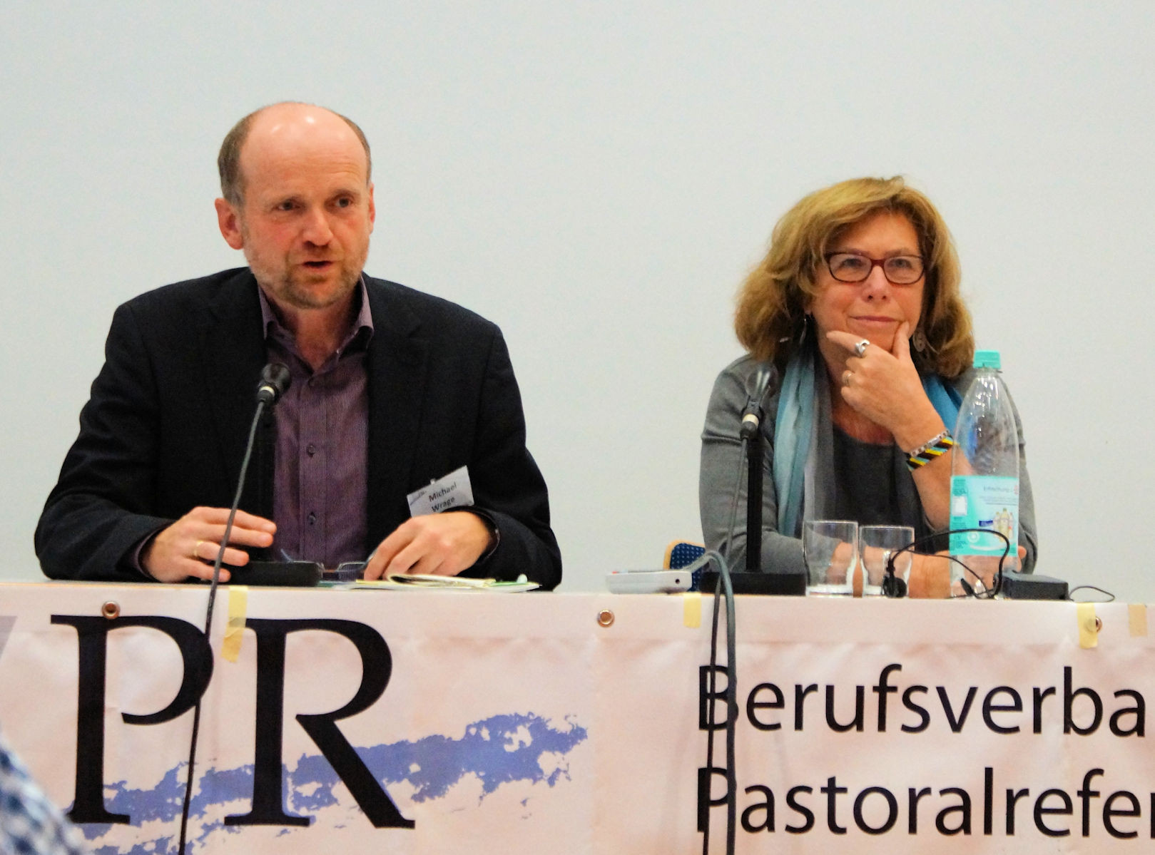 Die beiden Vorsitzenden BVPR und VPW