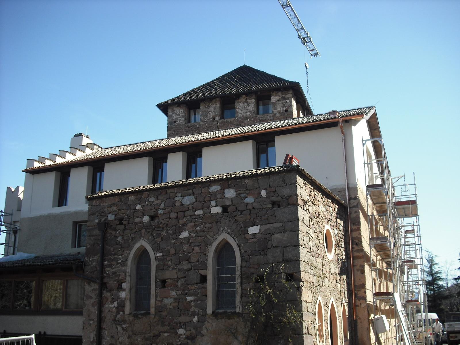 Erweiterung - Hotel Schloss Korb Eppan