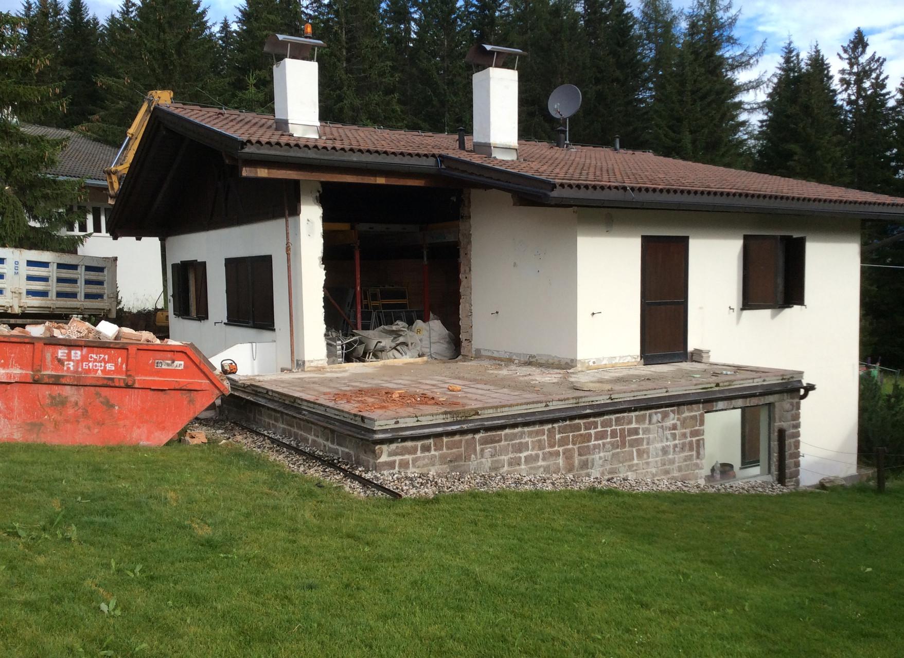 Sanierungarbeiten - Domenicali
