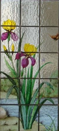 Philippe Brissy - atelier Théophile - Saumur - Val de Loire - détail du vitrail