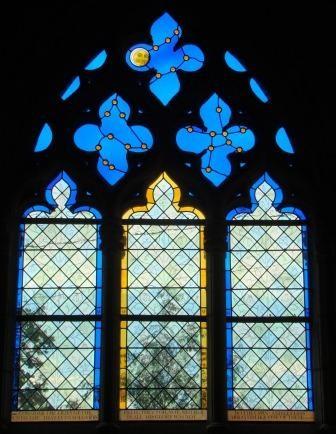 Philippe Brissy - atelier Théophile - Saumur - Val de Loire - vitrail ornemental
