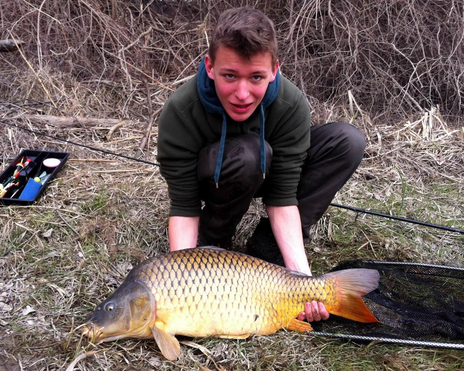 Matthias Pfeifhofer - Karpfen - 12,0kg 09.03.2013 - Donauarm (Revier III)