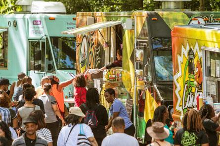 Les camions-resto, qui sont des projets d'entrepreneurs, sont devenus omniprésents aux Etas-Unis (© Shutterstock)