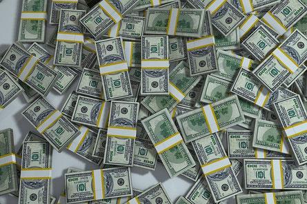 Argent, billets, dollars
