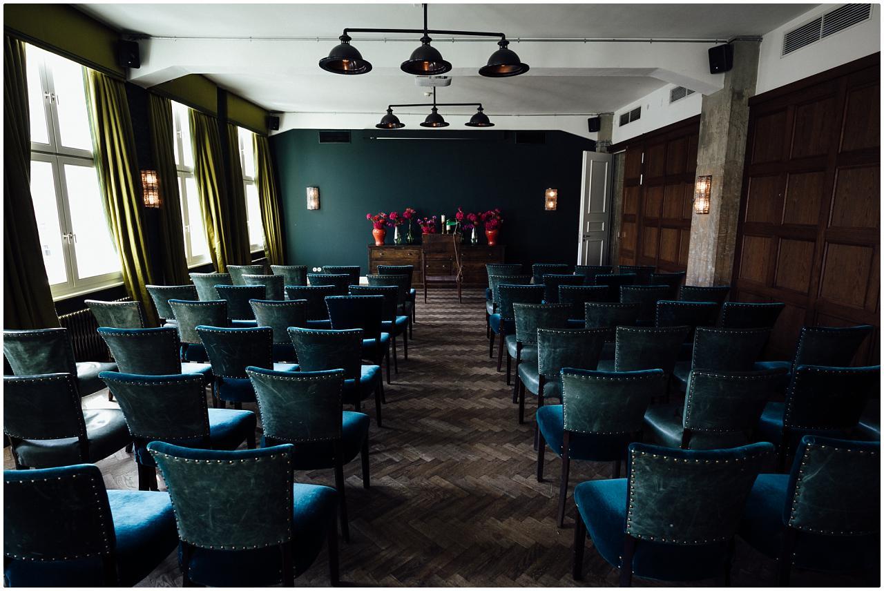 Das Politbüro im Soho House als Trauzimmer dekoriert