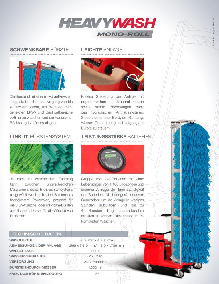 MAKSWASH ISTOBAL mobile LKW Waschanlage MONO