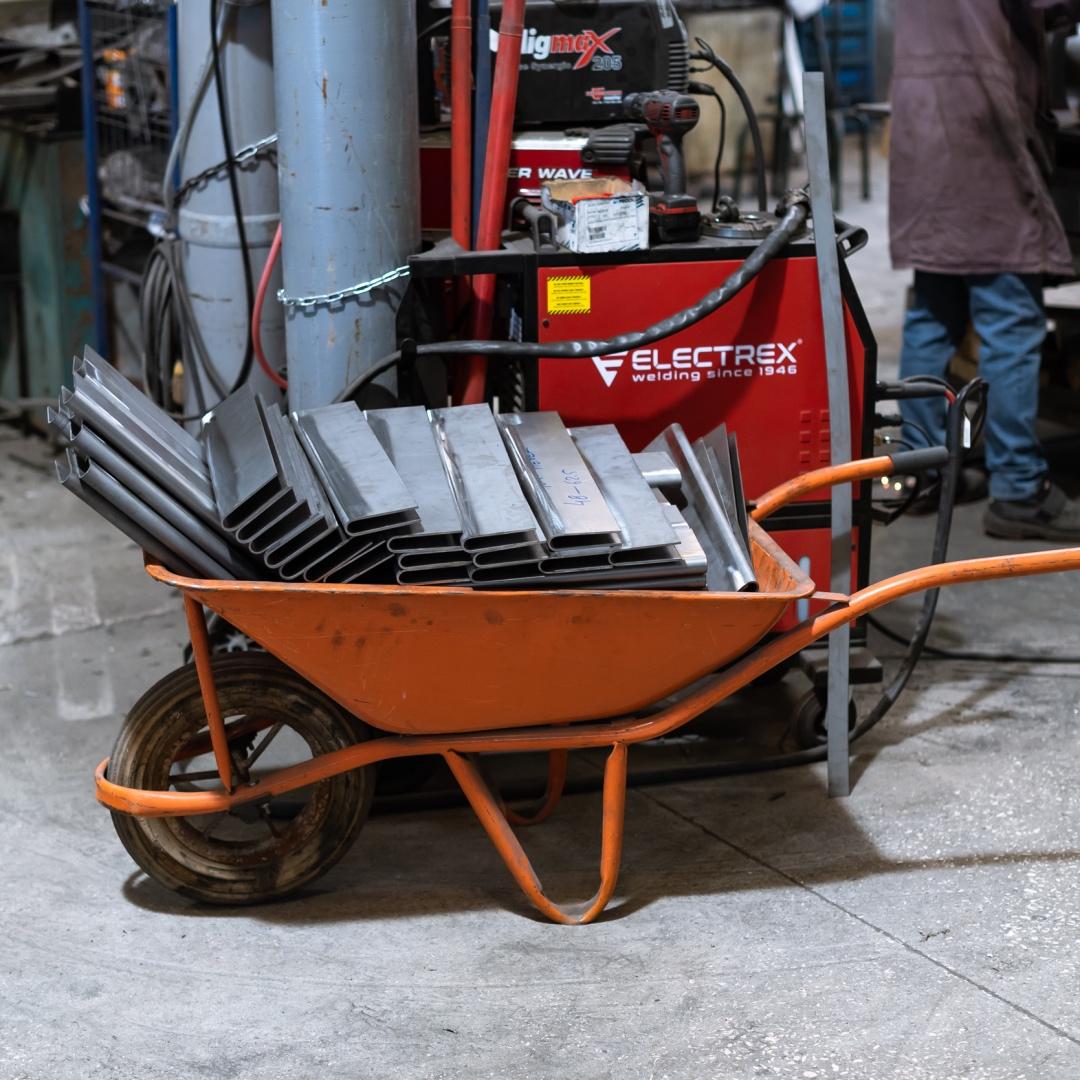 Barwagen Basso in der Produktion