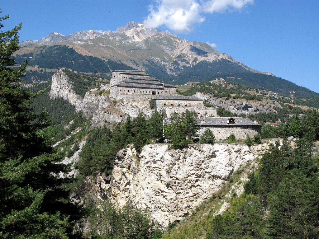 Auf dem WEeg zum Col de L'Iseran