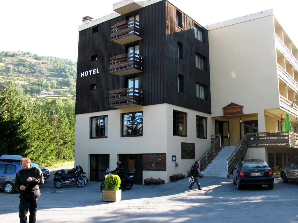 Unser Olympic-Hotel in Chantemerle bei Briancon