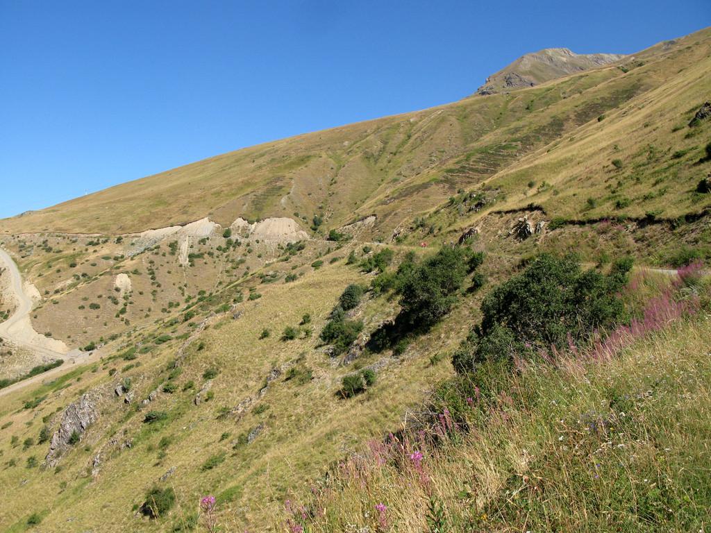 Am Col du Sarenne, nahe Alpe d' Huez