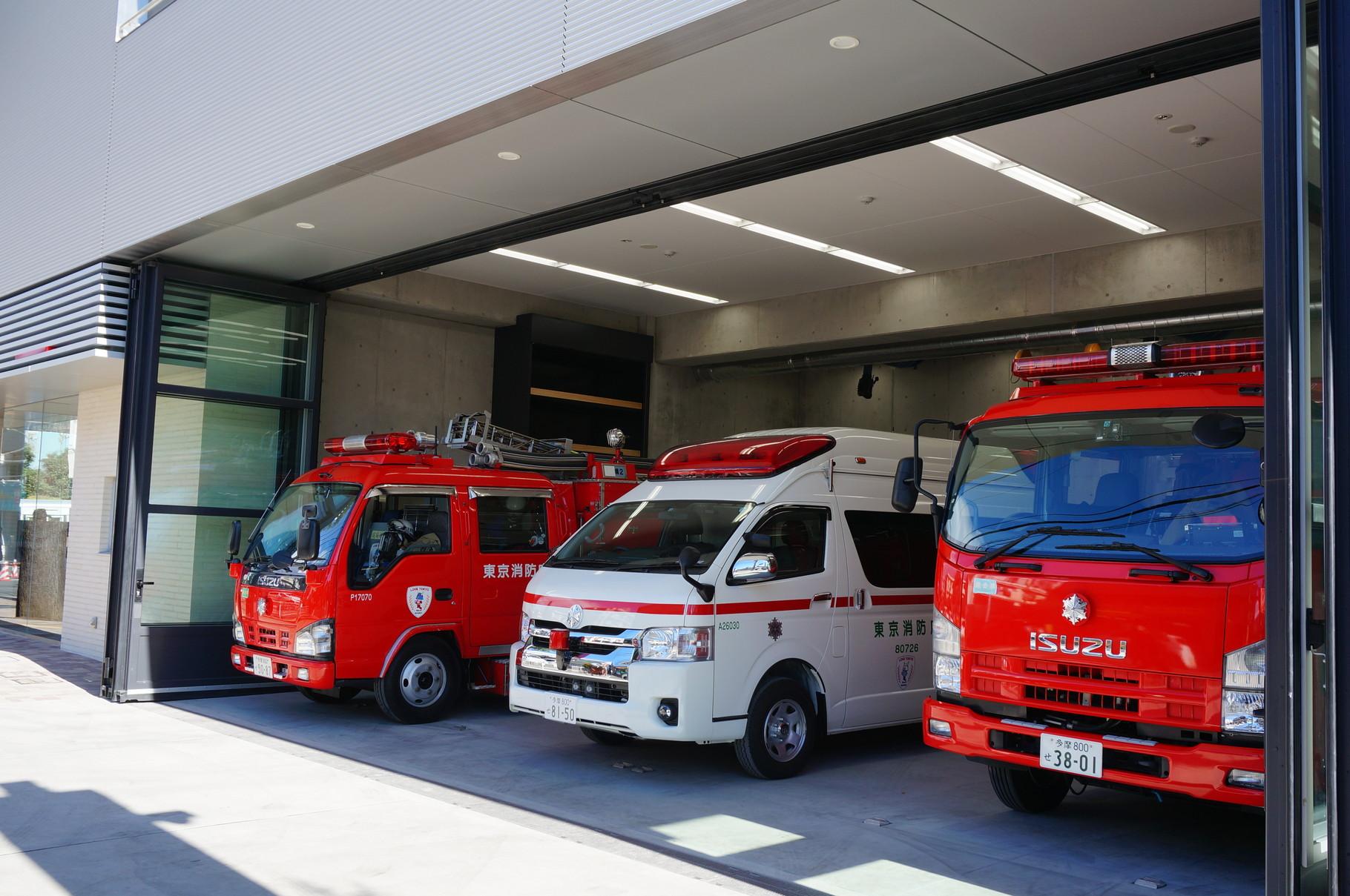 武蔵野消防署境出張所新築電気設備工事