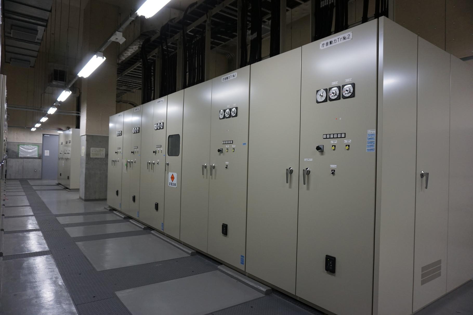 多摩水道立川庁舎水質実験質改修