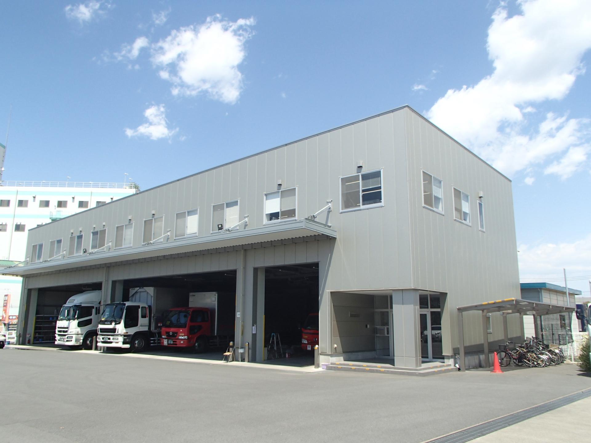 日本郵便輸送 多摩社屋新築工事