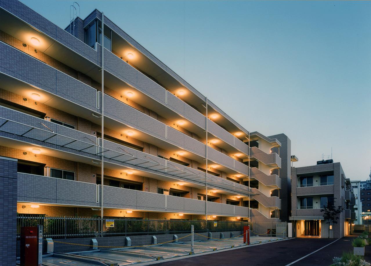 武蔵野中町分譲マンション新築工事