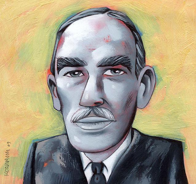L'Hebdo. Portraits de crise, Keynes. © 2009