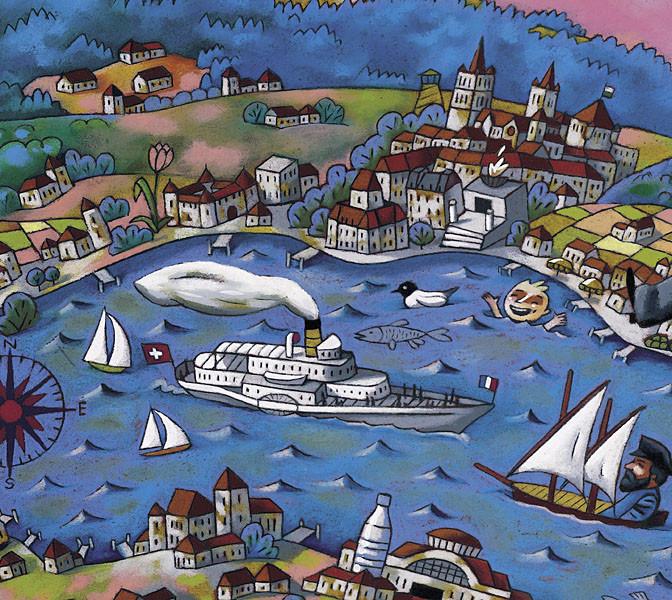 CGN, carte pour les enfants, détail 3. ©2005