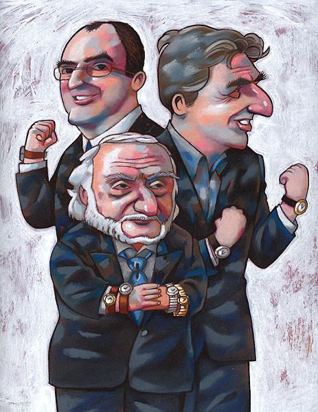 L'Hebdo. Les 100. Le clan Hayek. ©2005