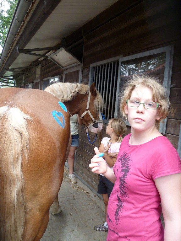 Pferdemalerei