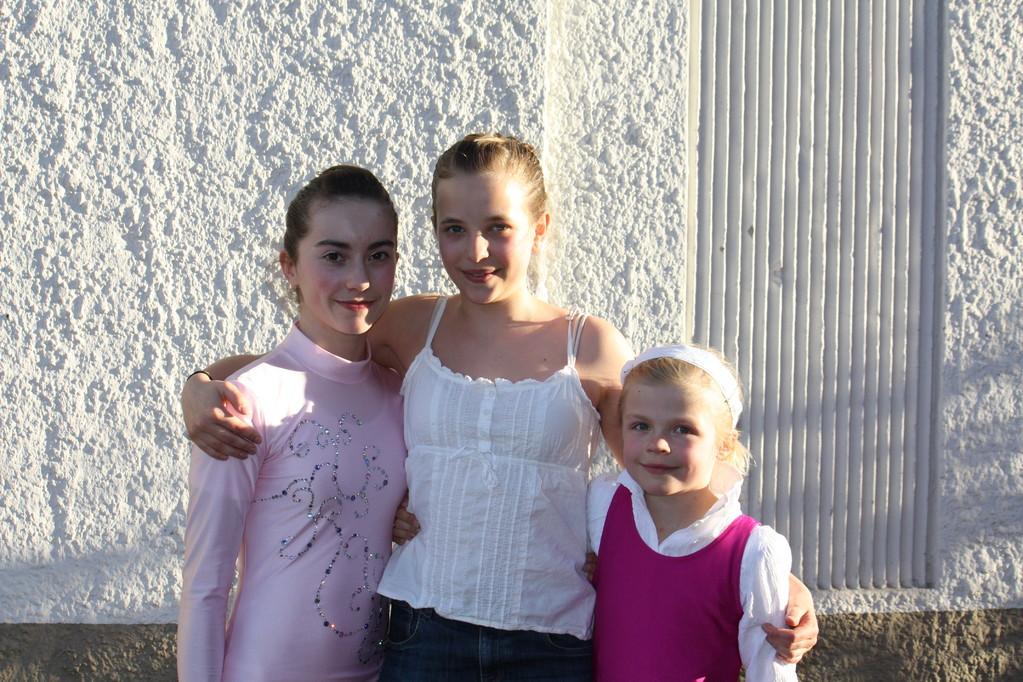 Chiara, Camille und Jula