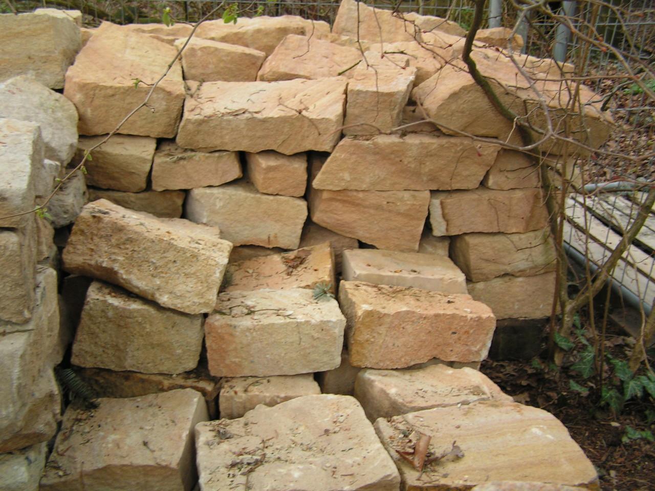 mauersetzsteine hammerrechte steine sandsteinformbrocken behauene steine stonesandmore. Black Bedroom Furniture Sets. Home Design Ideas