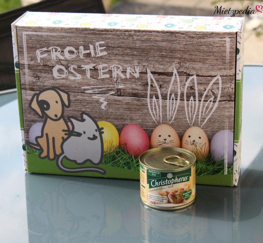 """Das Nassfutter von Christopherus mit """"Kaninchen & Ente"""""""