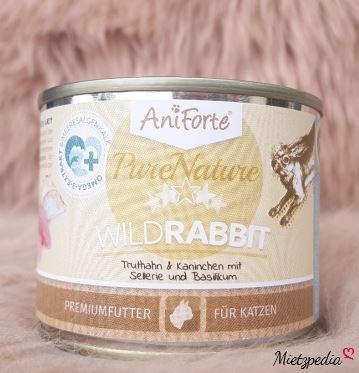 WildRabbit - Truthahn & Kaninchen mit Sellerie und Basilikum