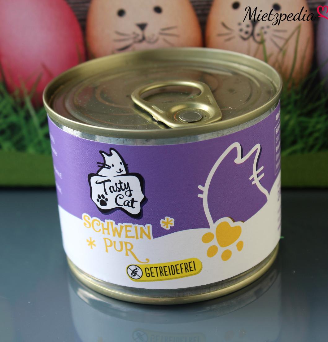 """Nassfutter von Tasty Cat mit """"Schwein Pur"""""""