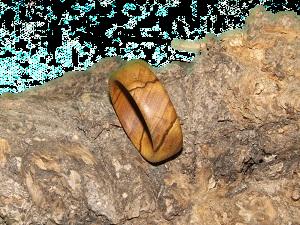 Fingerring Olive