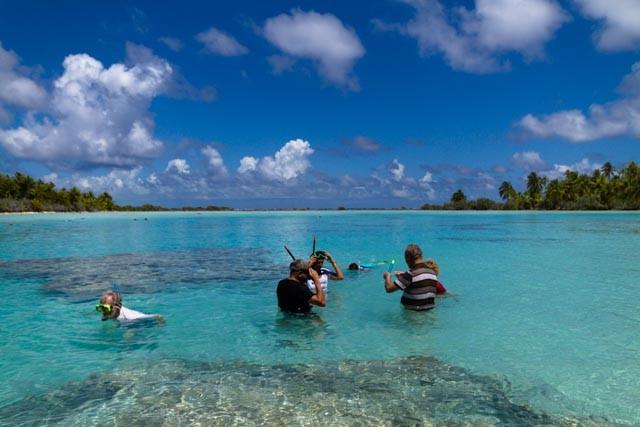 Snorkeling lagon bleu