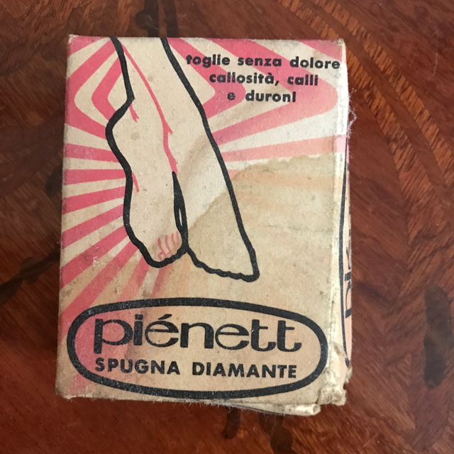 Spugna Pienett anni '50 / '60
