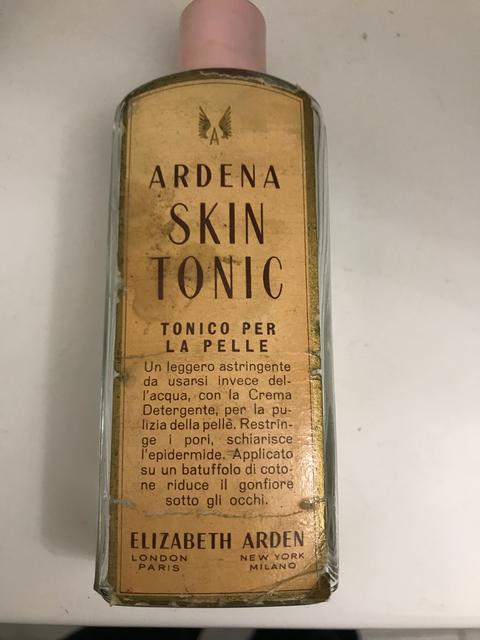Tonico Ardena Elizabeth Arden anni '50
