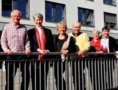 Max Mahlstein, Annelies Widmer, Vreny Wernert, Peter Hodel, Susan Staub, Patrik Weizenegger, Jolanda Lehr (v.l.n.r.)