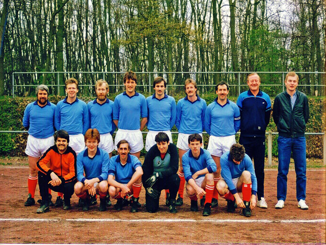 1. Mannschaft 1982