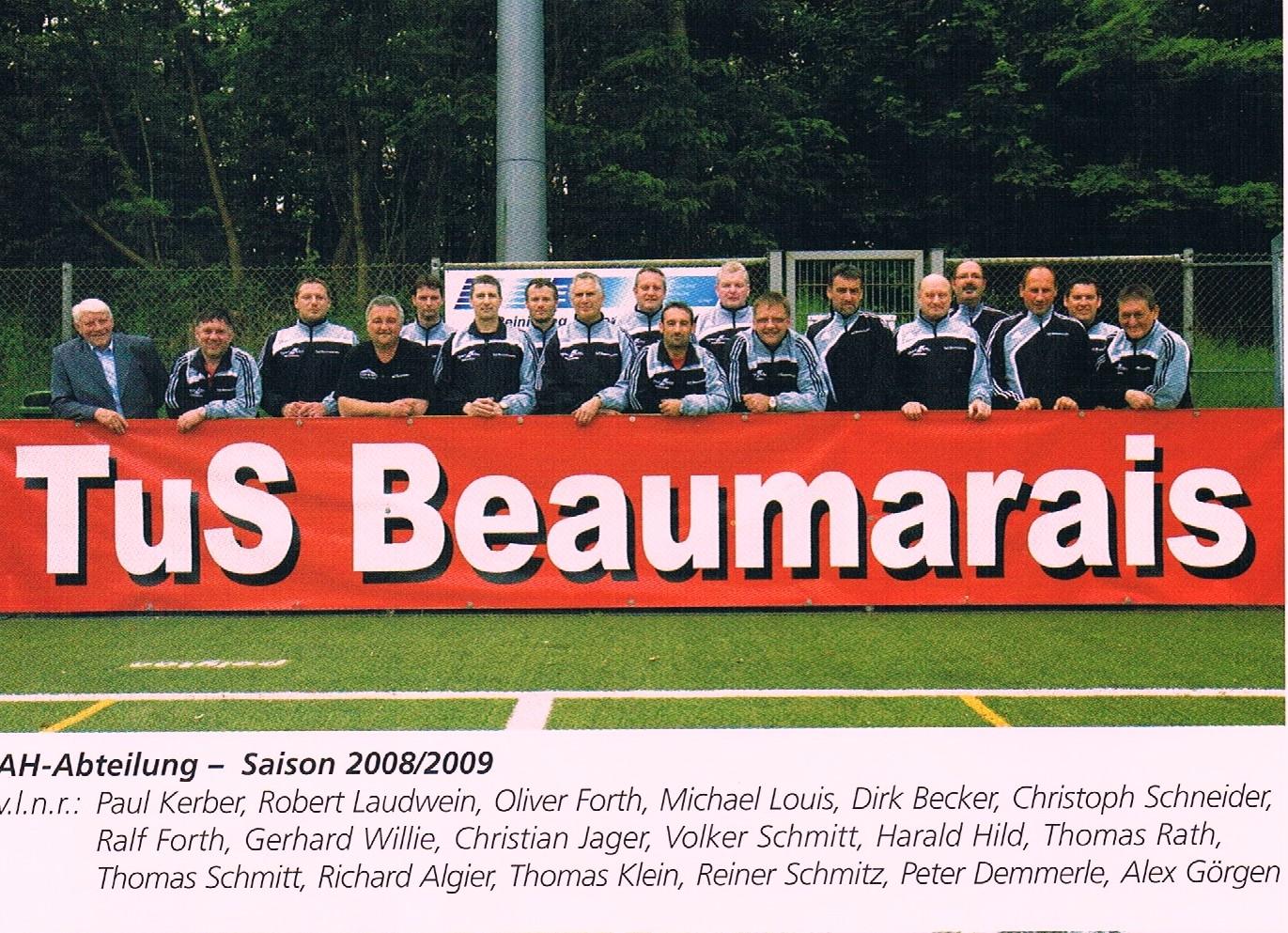 Alte Herren 2008/09