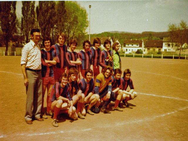 A-Jugend MEISTER 1975