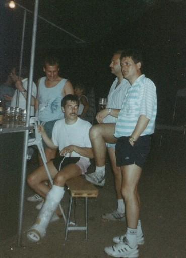 FEIERN BEIM TUS 1980er JAHRE