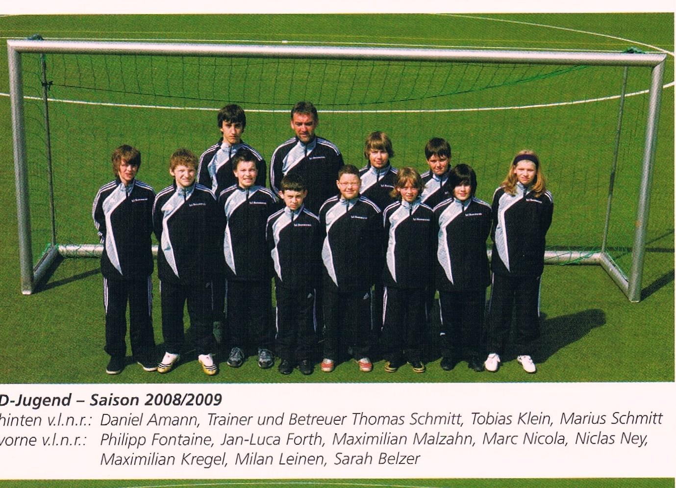 D-JUGEND 2008/09
