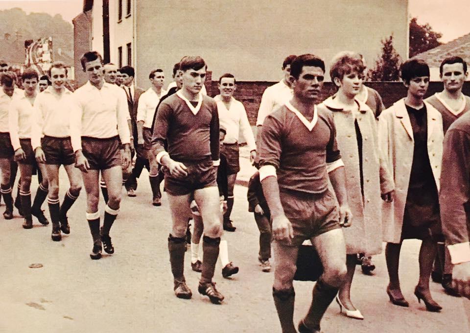 Sportveranstaltung in Beaumarais --- ENDE 1960er JAHRE
